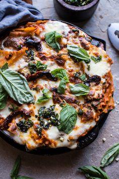 Simple Vegetarian Skillet Lasagna