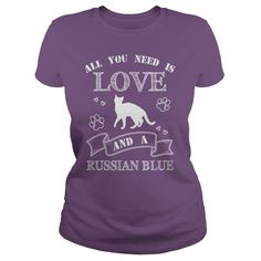 Russian Blue IF YOU LIKE THIS SHIRTS TAG & SHARE WITH YOUR RUSSIAN BLUE CAT... https://www.sunfrog.com/KatharineLam/Russian-Blue
