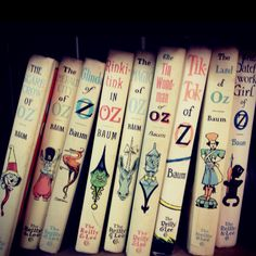 Oz Books- would love to own all of these!