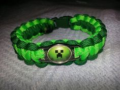 Minecraft Paracord Charm Bracelets   Community Post: 15 Incredibly Unique Minecraft Toys That'll Take Your Geekiness To New Levels