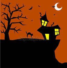 Výsledek obrázku pro halloween strašidelný dům