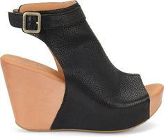 Berit - Black Korkease Womens Sandals