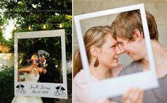 polaroid wedding idea - polaroid photo booth