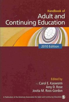 Handbook of adult and continuing education (2010) / edited by Carol E. Kasworm, Amy D. Rose, Jovita M. Ross-Gordon.  Kathleen Taylor, professor in Graduate Education, co-authored the chapter on Adult Development.