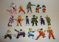Large Lot of Dragon Ball Z Small Mini Figures - DBZ Dragonball Characters PVC