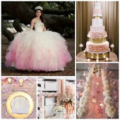 Princess Themed Quinceanera  | Quinceanera Ideas |