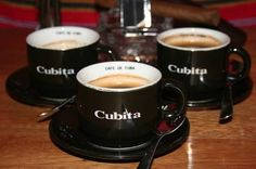 #Cuban #Coffee – Famous all of the world, the aroma, flavor and texture of real Cuban #Cubita Coffee is just perfect. Known for its sharp aftertaste and rich fully body, Cuban Coffee is now making a comeback. www.AllAboutCuba.com