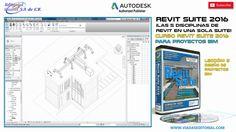 Revit Suite 2016 BIM Curso | Tutorial: Lección 5 Diseño de Proyectos