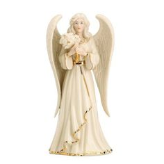Lenox Angelic Visions Friend Angel with Flowers Figurine. #Lenox #Statue #Sculpture #Figurine #Decor #Gift #gosstudio .★ We recommend Gift Shop: http://www.zazzle.com/vintagestylestudio ★