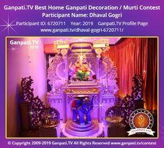 Ganpati Decoration Theme, Ganapati Decoration, Decoration Pictures, Decorating With Pictures, Ganesha Art, Lord Ganesha, Ganpati Picture, Ganesh Chaturthi Decoration, Ganpati Festival