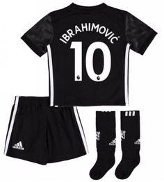 Manchester United Zlatan Ibrahimovic 10 Bortaställ Barn 17-18 Kortärmad Manchester United, Neymar Jr, Real Madrid, Gym Men, Gym Shorts Womens, The Unit, Tops, Fashion, Moda
