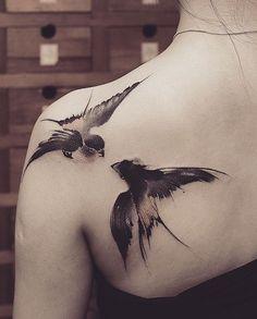 Chen Jie Newtattoo bird tattoo