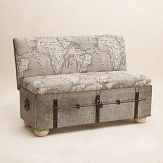 Leuk Bankje Kunnen We Dit Niet Maken Van Dat Oude Hutkoffer - Beautiful retro modern chairs made old suitcases