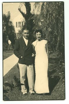 Shanghai 1930s couple