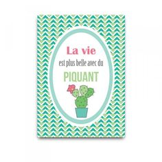carte Piquant Dodo&Cath - Deco Graphic