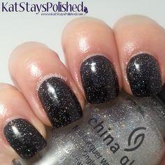 China Glaze Pop Top - Fairy Dust | Kat Stays Polished @chinaglaze @sallybeauty @ultabeauty