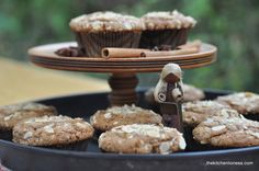 The Kitchen Lioness: Speculoos Muffins with Marzipan - Spekulatius-Muffins mit Marzipan