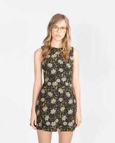 FULL SHORT PRINTED DRESS-View all-Dresses-WOMAN | ZARA United States
