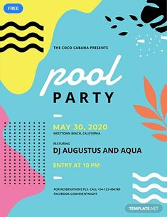 freier-pool-party-flyer/ - The world's most private search engine Event Poster Design, Flyer Design, Event Posters, Poster Designs, Ibiza Pool Party, Pamphlet Design, Web Design, Graphic Design, Flyer Free