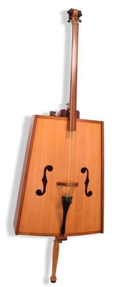 Fretless Box Bass (not quite a cigar box because the body was... --- https://www.pinterest.com/lardyfatboy/