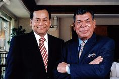 Shashi and Ravi Ruia- Founders of Essar Group., Known for India's richest siblings and born Entrepreneurs.