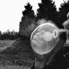 smoke bubble by lisa-piepegal on DeviantArt Bubble Gang, Teenage Dream, Come And See, Drugs, Smoking, Photo Ideas, Lisa, Bubbles, Bucket