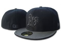 35b6481bbca Oakland Athletics MLB Hats Black-Grey Wholesale 2846