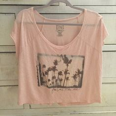 """NWOT Billabong top The ideal Tshirt for any casual outfit! Oversized look. """"You, me, & the sea"""" Billabong Tops"""