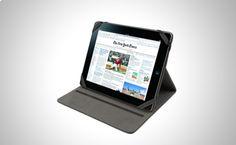 Funda/Soporte Negra para iPad compatible con: Apple iPad, Apple iPad 2, Apple iPad 4ªGeneración (Retina), Apple New iPad.