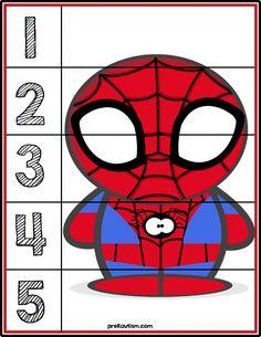 FREE! Spiderman Puzzle