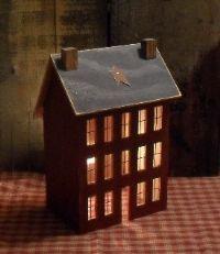 Window Salt Box House