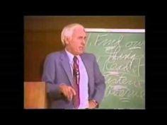 Jim Rohn Tells The Bible Story of Job (pronounced Joeb)