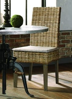 Davenport by Coaster 103803 Rattan Dining Chair