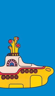Movie poster for Yellow Submarine (1968).