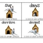 Here are posters to teach students placement in French. ...
