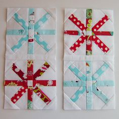 snowflake (asterisk?) blocks. So cute I need to make this for a christmas quilt for the back of the couch. I love it.