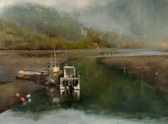 Jackson Lain, Tide Out #3, oil, 24 x 36.