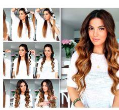 Frisuren lange haare lockenstab