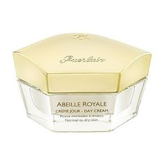 Guerlain Abeille Royal Day Cream - Normal to Dry Skin 1 oz by Guerlain. $102.00. Formulated with Pure Royal Concentrate extracted from bees. What it is: A firming day cream for normal to dry skin.What it does:Abeille Royale Day Cream for normal to dry skin contains the Pure Royal Concentrate ingredient, extracted from the natural healing power of bee products. Exclusive to Guerlain, this ingredient promotes the healing process in aging skin to help repair wrinkles a...
