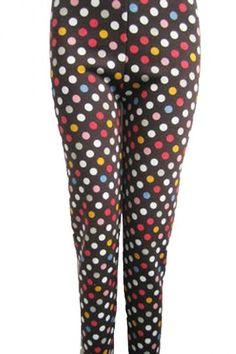 Cool Cute Spring Outfits Colorful Polka Dot Leggings  Polka Dot Leggings for Junior Check more at http://24shopping.ga/fashion/cute-spring-outfits-colorful-polka-dot-leggings-polka-dot-leggings-for-junior/