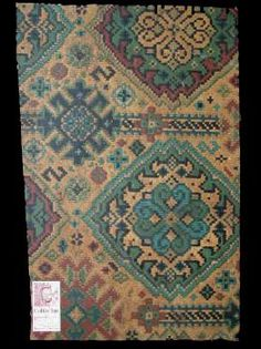 1925 printed linoleum found in Australia Museum Collection, Colonial, Floors, Victorian, Australia, Rugs, Printed, Vintage, Home Decor