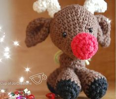 Ravelry: Rudy the Red Nosed Reindeer pattern by Josephine Wu
