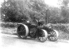 Salford Priors.  Agricultural machinery A ploughing engine as used by Messrs Bomford and Evershed of Salford Priors. 1900s