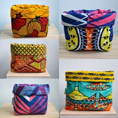 African Crafts, African Home Decor, African Interior Design, African Design, African Textiles, African Fabric, Cute Sewing Projects, Sewing Diy, Crafts To Make