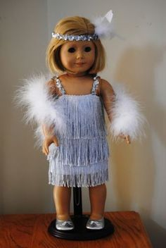 Flapper Dress for American Girl Doll