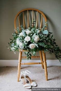 Wedding shoes ideas - heel, sandals, white, classic, open toe {Tales and Trees Photography}