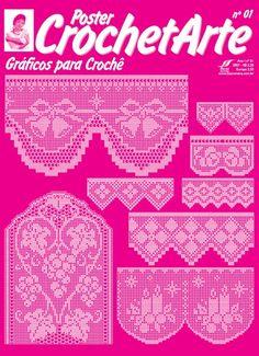 crochet - filet edgings - barrados / bicos filet - Raissa Tavares - Picasa-Webalben