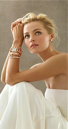 Remember your hair and jewellery! make your hair soft and loose- people love up dos so that the back of your dress, that is seen by most people throughout the ceremony, is clearly visible