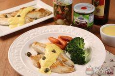 Receita de Peixe grelhado com molho francês - Comida e Receitas