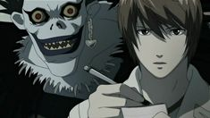 Light & Shinigami Ryuk - Death Note
